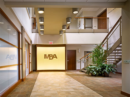 MBA Offices Interior Lower Level